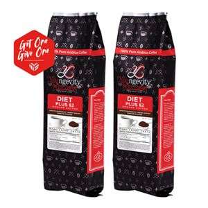 Picture of YBTC Coffee - Diet Plus 62 Ground (12oz)